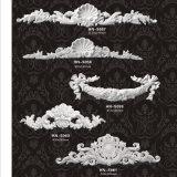 De Ornamenten Appliques en Onlays hn-S042A&B van het Blad van de Rol van Pu Acanthus