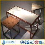 家具のための木製のGrianのアルミニウム蜜蜂の巣のパネル