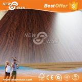 Chapas de madera de doble cara melamina MDF / laminado