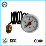 002 45mm毛管ステンレス鋼の圧力計の圧力計かメートルのゲージ