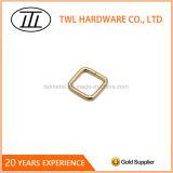 Curvatura livre do anel do quadrado do metal do ferro niquelar para o saco