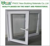 Американский стиль алюминиевого профиля двойные стекла дверная рама перемещена окна