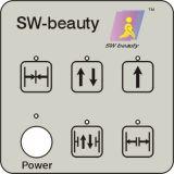 Conducteur automatique de porte coulissante de beauté suisse