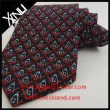 Laço maçónico tecido seda do logotipo feito sob encomenda de 100% para homens