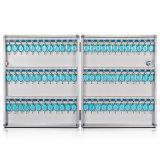 Der 72 Schlüssel-Kasten-Schrank befestigen Wand-Montierungs-Kombinations-Aluminium