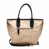 Grande sacchetto di Tote del progettista di svago della donna in cuoio dell'unità di elaborazione (MBNO040091)