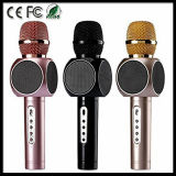 E103 Microphone sans fil portable sans fil avec microphone Haut-parleur Home Mini Karaoke Player KTV Singing Record