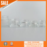 装飾的なクリーム色の包装のためのふたが付いている2つのOzのガラス瓶