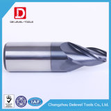 Molino de extremo afilado carburo de la alta calidad para el PVC y el acero