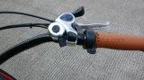 Batería de litio bicicleta eléctrica 250W del disco del freno de motor sin escobillas de aleación de aluminio Pantalla LCD EN15194 Hongdu hombre eléctrica bicicletas crucero de la playa E-Bici