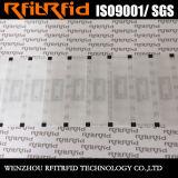 Collant imprimable adhésif à affichage d'étiquette de l'IDENTIFICATION RF NFC de la coutume 13.56MHz