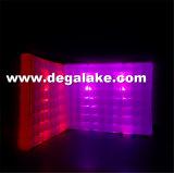 De LEIDENE Lichte Opblaasbare Muur van de Lucht voor de Muur van de Tent van de Tentoonstelling voor Decoratie