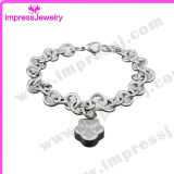 L'osso/modifica/cuore incanta l'acciaio inossidabile dei Keepsakes di cremazione del braccialetto
