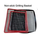 La FDA Certificado LFGB Material PTFE No Stick cocinando el canasto de malla