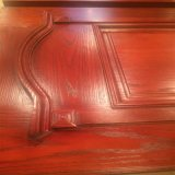 固体チークの木のドアの基本記入の木のドア(XS1-002)