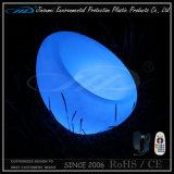 Colore di plastica materiale del PE che cambia la sede ricaricabile di virgola del LED