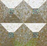 노란 입술 Mop 쉘 및 전복 쉘 불규칙한 삼각형 모자이크