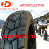 Pneumático sem câmara de ar 410-18 da motocicleta chinesa, 275-18, 300-18, 300-17, 110/90-17, 90/90-19, 110/100-17, 110/100-18, 460-18