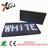 P10 Exteriores Single White LED Display Module Screen para Publicidade