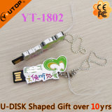 Выдающая ручка USB логоса письма/характера для свободно подарков (YT-1803L)
