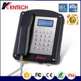 Téléphone anti-déflagrant de téléphone lourd imperméable à l'eau de téléphone d'Atex Zone2