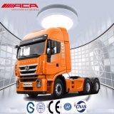 Тележка трактора кабины краткости плоской крыши Saic-Iveco Hongyan 40t 340HP 6X4