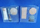 Het duidelijke Dienblad van de Blaar van het Huisdier voor het Vastgestelde Dienblad van de Verpakking van de Blaar van het Huisdier Cosmestic voor Cosmestic