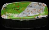 Le gaufrage en plastique jetables de la plaque de nouilles sèches avec couvercle transparent (SZ-302)