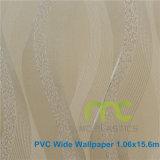 Papier peint en PVC pour décoration à la maison, fond d'écran PVC embossé 1.06X15.6m