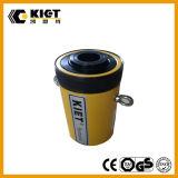 Cilindro hidráulico del cilindro de efecto simple hueco