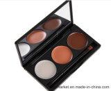 3 Palet van de Camouflagestift van de kleur het Natte Kosmetische met Camouflagestift van de Room van de Borstel en van de Spiegel Shock-Proof