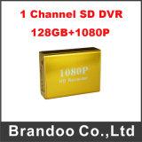 1CH Auto HD 1080P DVR van de Camera van de auto de Volledige