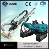 油圧掘削装置を発破を掛けるKs668多目的な石切り場