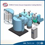 Máquina de revestimento térmica da resistência dourada plástica PVD