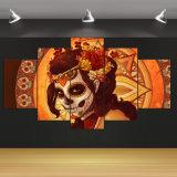 [هد] طبع يوم من الميّتة وجه مجموعة صورة زيتيّة غرفة زخرفة طبلة ملصقة صورة نوع خيش منزل زخرفة جدار فنية [ف-979]
