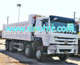 Vrachtwagen van de Stortplaats HOWO van de lage Prijs Goede Voorwaarde Gebruikte 12 de Kipper van Wielen voor Afrika