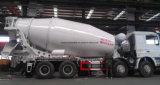 8X4 시멘트 믹서 15 Cbm 구체 믹서 트럭 가격