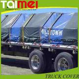 De zwarte PE van de Dekking van de Vrachtwagen Hoge Plicht van het Geteerde zeildoek