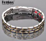 Magnetische Schmucksache-Form-gesundes Titanarmband (TL-429)