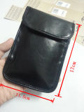 Cell Phone RFID Signal Jammer Blocker Bag Leather