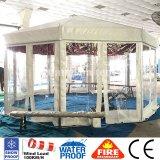 Длина Gazebo 3m шатра сени партии алюминиевого сплава восьмиугольная бортовая