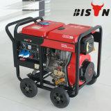 Bisontes (China) BS6500dce (H) 5kVA 5 kW 1 año de garantía Pequeño Diesel Generador de soldadura 3 Fase de generador portátil
