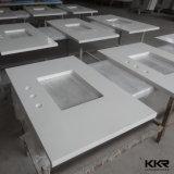 Material de construção de bancadas de pedra de quartzo personalizado para cozinha (171208)