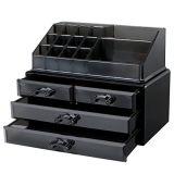 Ювелирные изделия и устроитель коробок индикации хранения состава (ящиков 1 верхней части 4) косметический (смуглавый)