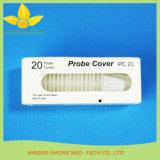 柔らかいタッチを用いる使い捨て可能なプラスチック耳で測る体温計のプローブカバー