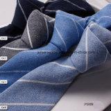 Plaine classique teints vérifié le linge de maison cravate des hommes d'usine occasionnel