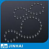(t) piedra del vidrio de flotador del alto gradiente de 4m m de las piezas del rociador