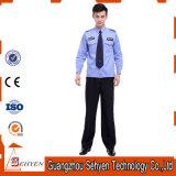 Polyester de ressort et uniforme de garde de sécurité de vêtements de travail de coton pour le butoir