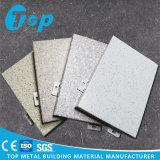 Новые имитированные каменные алюминиевые твердые строительные материалы фасада ненесущей стены панели
