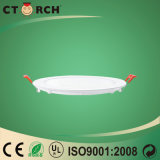 Luz de painel redonda do diodo emissor de luz de Ctorch da alta qualidade com Ce 24W